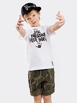 STOPROCENT T-SHIRT KID JAK DOROSNĘ WHITE
