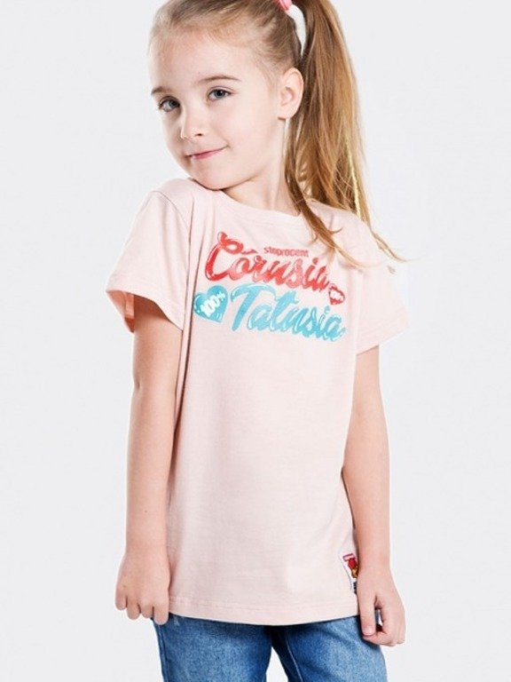 STOPROCENT T-SHIRT KIDS CÓRUSIA PINK