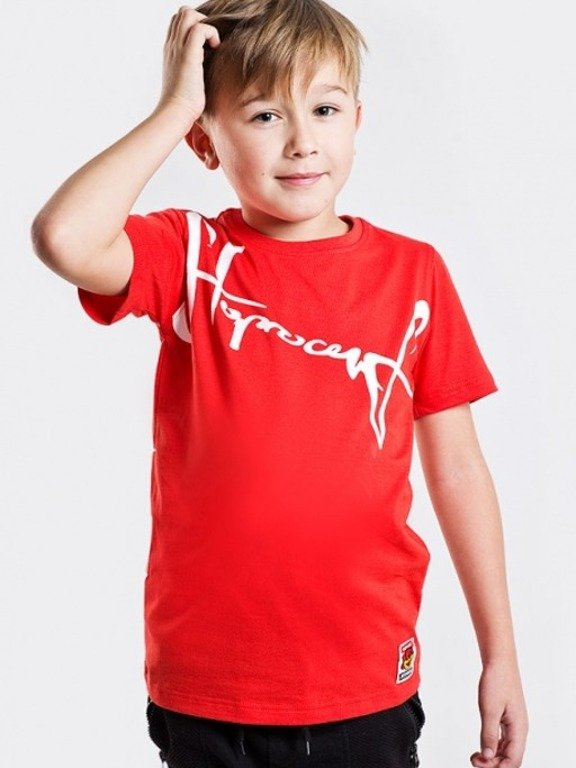 STOPROCENT T-SHIRT KIDS DOWNHILL RED