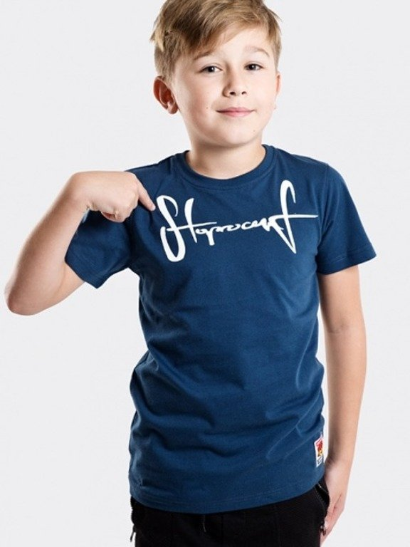 STOPROCENT T-SHIRT KIDS TAG17 NAVY