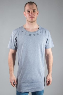 STOPROCENT T-SHIRT LONG PRAWDA GREY