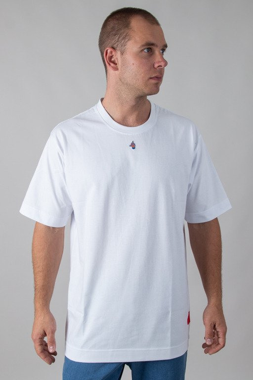 STOPROCENT T-SHIRT MIDDLE WHITE