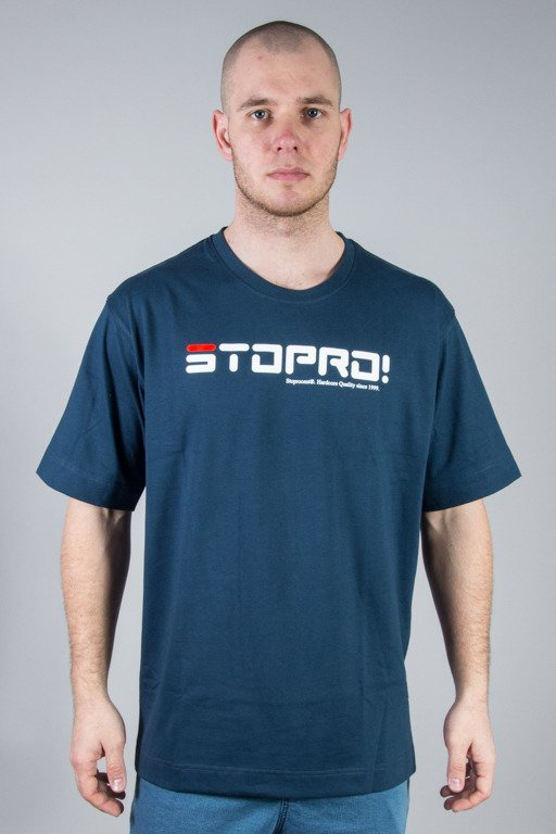STOPROCENT T-SHIRT SIŁA NAVY