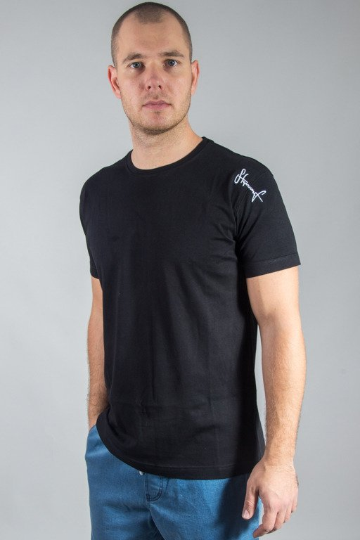 STOPROCENT T-SHIRT SLIM BASE BLACK