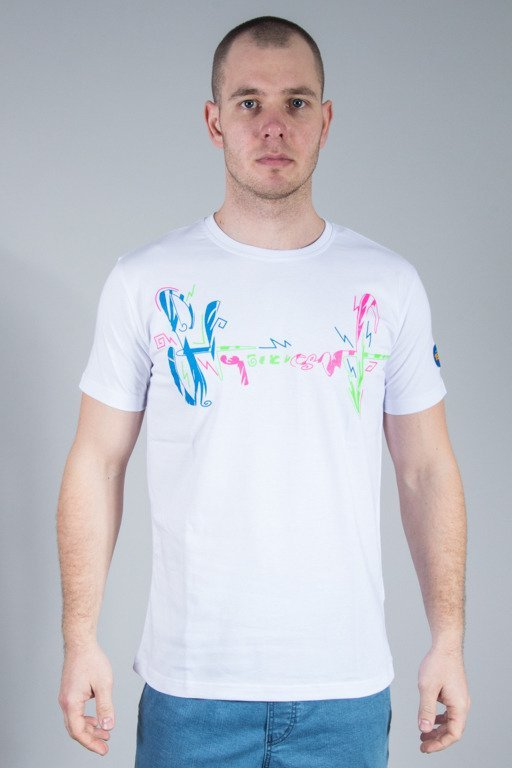 STOPROCENT T-SHIRT SURFTAG WHITE