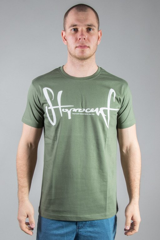 STOPROCENT T-SHIRT TAG17 KHAKI