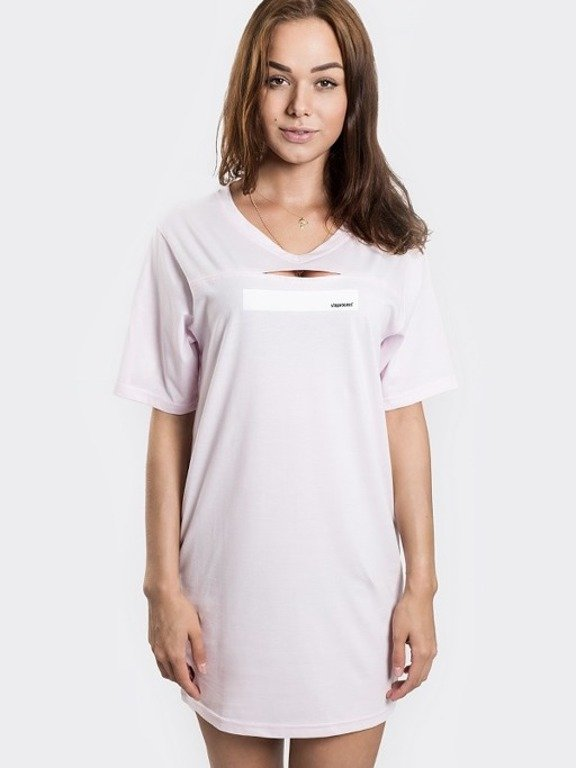 STOPROCENT T-SHIRT WOMAN SIMPLE PINK