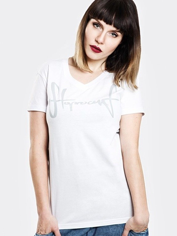 STOPROCENT T-SHIRT WOMAN TAG17 WHITE