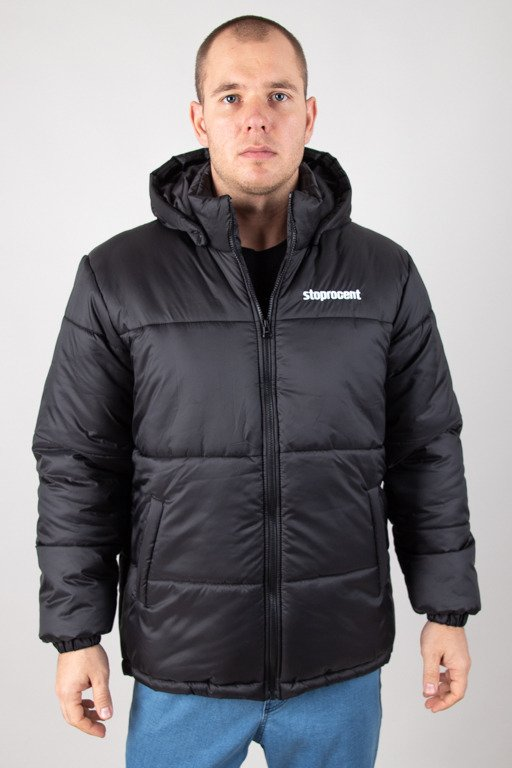STOPROCENT WINTER JACKET PUFFER BASE BLACK