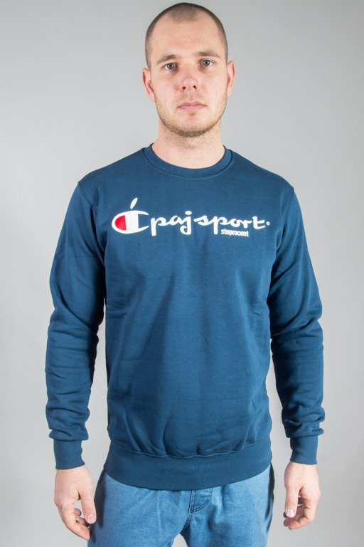 STORPOCENT CREWNECK CHAMPION NAVY