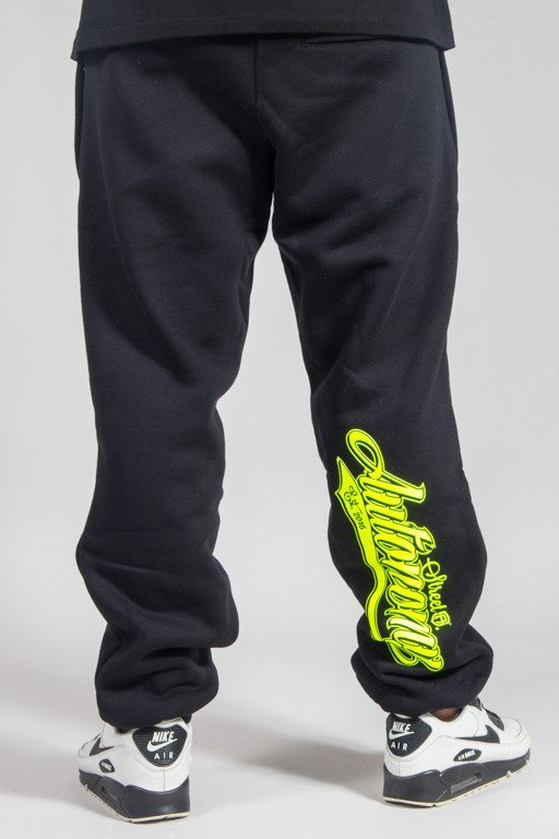 STREET AUTONOMY SWEATPANTS BACK TEAM BLACK
