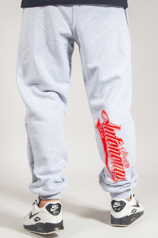 STREET AUTONOMY SWEATPANTS BACK TEAM MELANGE