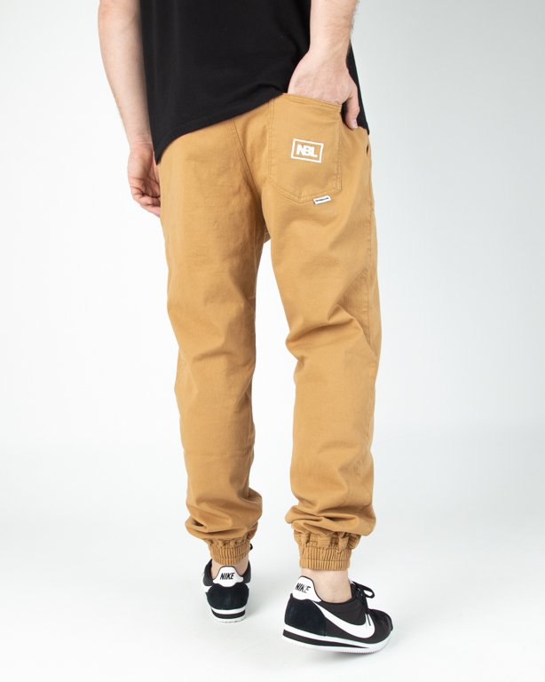 Spodnie New Bad Line Chino Jogger Icon Honey