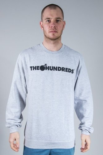 THE HUNDREDS BLUZA BEZ KAPTURA FOREVER BAR MELANGE