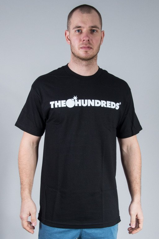 THE HUNDREDS KOSZULKA FOREVER BAR BLACK