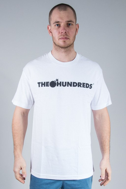 THE HUNDREDS KOSZULKA FOREVER BAR WHITE