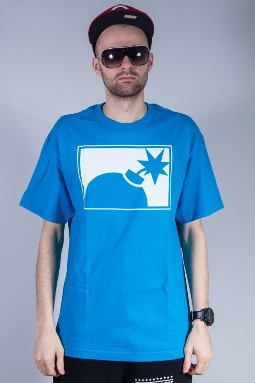 THE HUNDREDS KOSZULKA FOREVER HALF BOMB BLUE
