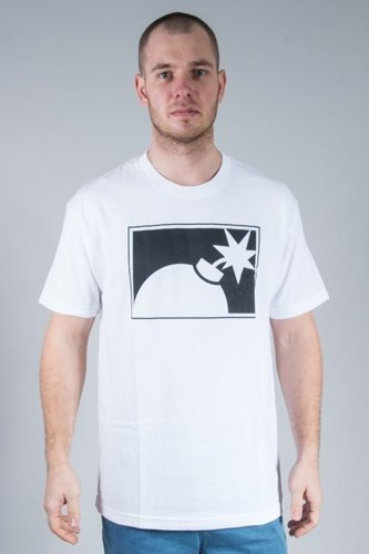 THE HUNDREDS KOSZULKA FOREVER HALF BOMB WHITE