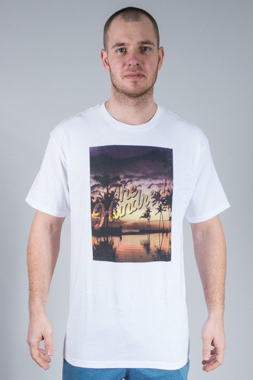 THE HUNDREDS KOSZULKA RELAX SLANT WHITE