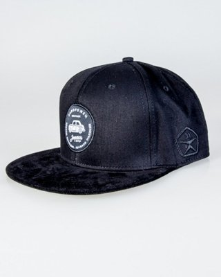 TRUE SPIN SNAPBACK CAR BLACK