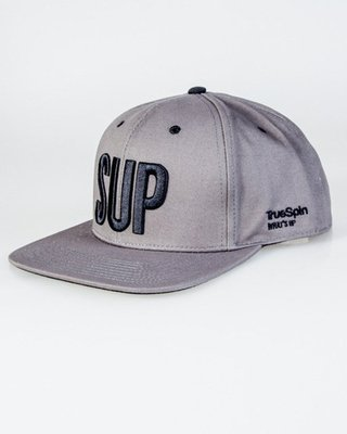 TRUE SPIN SNAPBACK SUP GREY