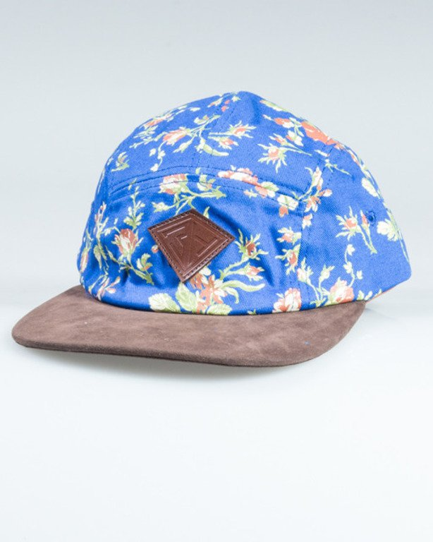 TRUESPIN 5PANEL FLOWERS NAVY