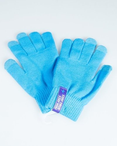 TRUESPIN GLOVES TOUCH BLUE