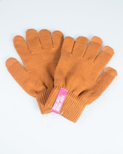 TRUESPIN GLOVES TOUCH BROWN