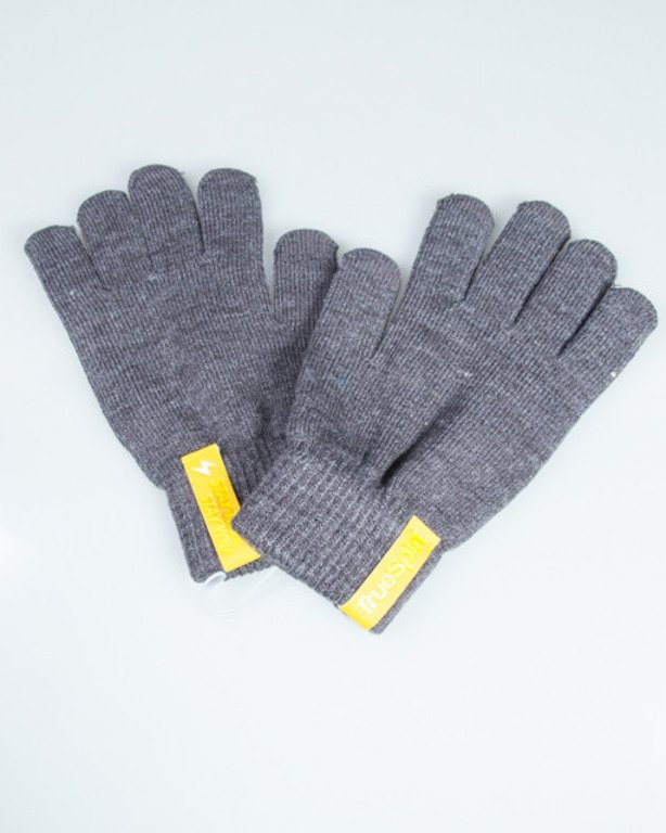 TRUESPIN GLOVES TOUCH DARK GREY