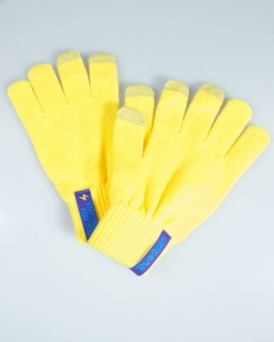 TRUESPIN GLOVES TOUCH YELLOW