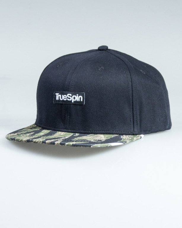 TRUESPIN SNAPBACK JUNGLE BLACK