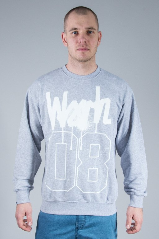 WSRH CREWNECK SPRAY MELANGE