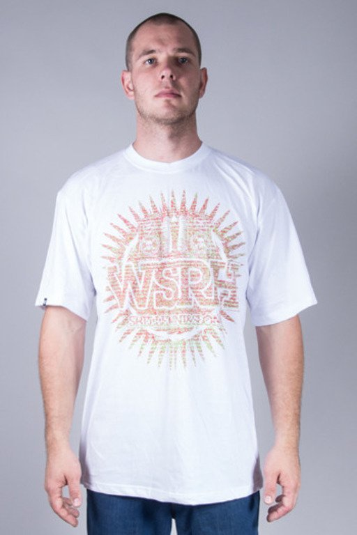 WSRH T-SHIRT DOTS WHITE