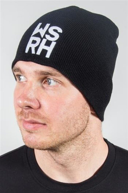 WSRH WINTER CAP SQUARE BEANIE BLACK