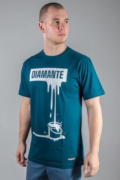 ef5f7c1a3 DIAMANTE WEAR T-SHIRT PAINTIN WHITE GREEN KOSZULKI \ T-shirty | Skateshop  odziejsie.pl! Prosto, SSG, Stoprocent, El Polako, Diil, Diamante, ...