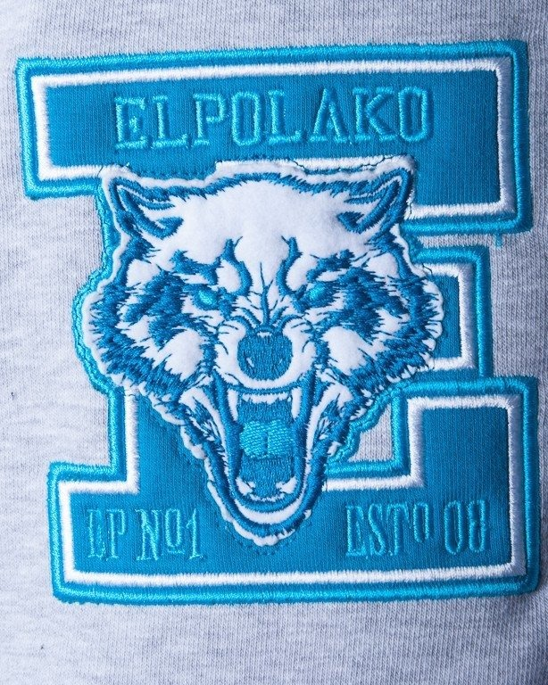 EL POLAKO BLUZA BEZ KAPTURA BASE LION BLACK