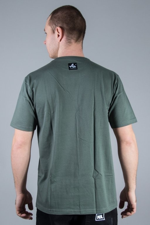 ALKOPOLIGAMIA T-SHIRT BASIC KHAKI