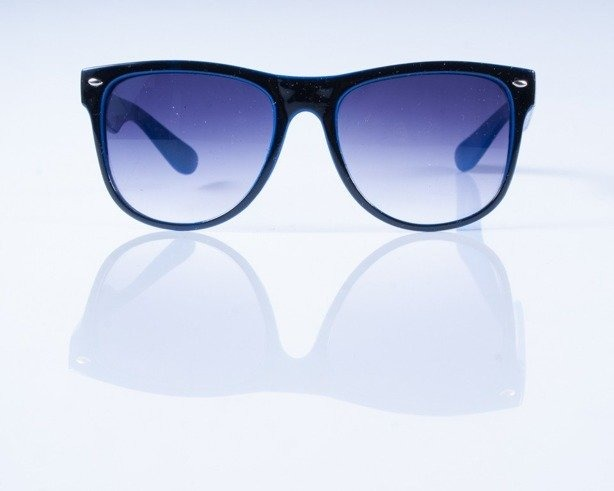 BLOCK OKULARY OUT BLACK BLUE