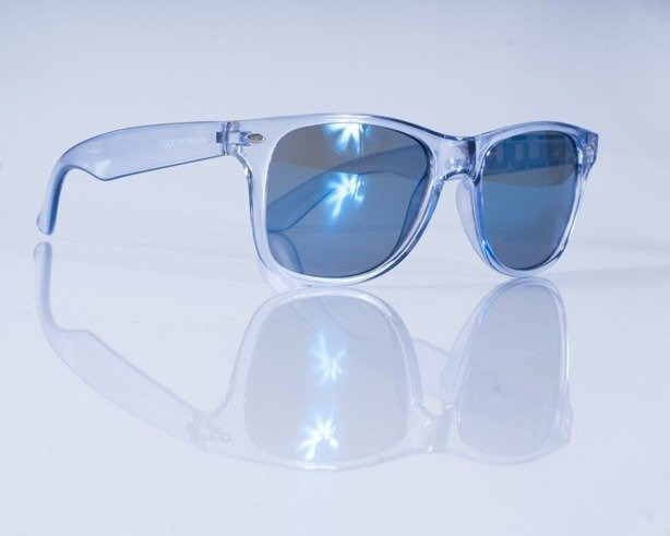 BLOCX OKULARY ALL CLAER LIGHT BLUE