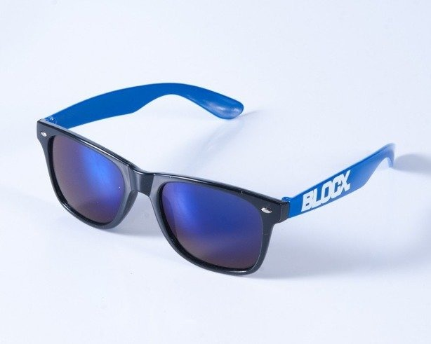BLOCX OKULARY CLASSIC BLACK-BLUE COL