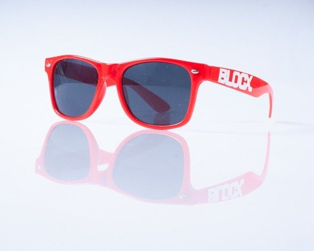 BLOCX OKULARY CLASSIC RED