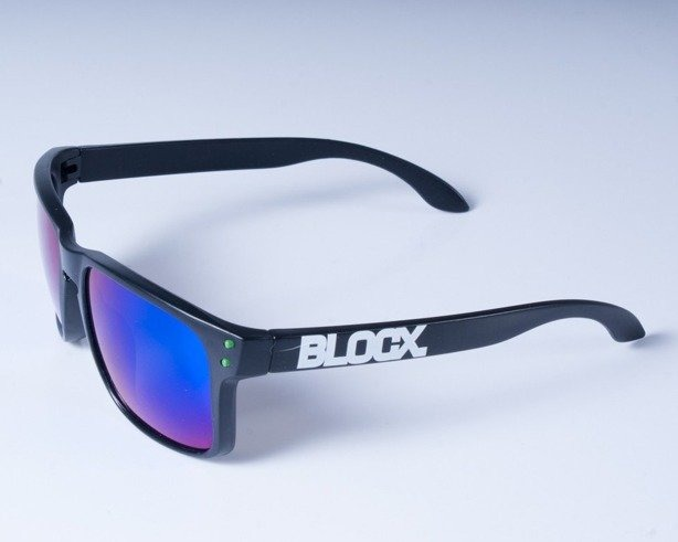 BLOCX OKULARY FREESTYLE BLACK-GREEN COL
