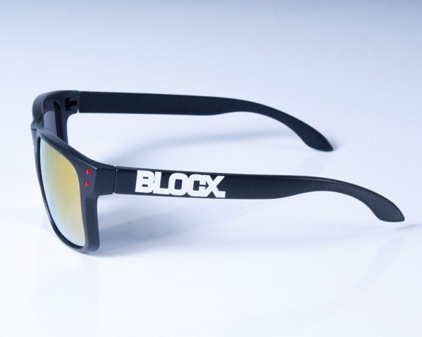 BLOCX OKULARY FREESTYLE BLACK-RED COL