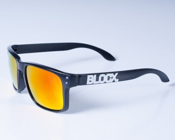 BLOCX OKULARY FREESTYLE BLACK-VIOLET COL