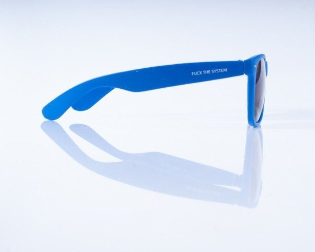 BLOCX OKULARY MAT BLUE COL