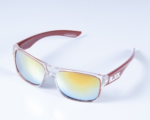 BLOCX OKULARY SHARK CLEAR X BROWN