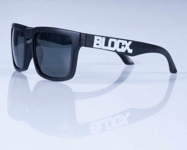 BLOCX OKULARY SQUARE BLACK MAT