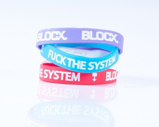 BLOCX OPASKA FUCK THE SYSTEM BLUE