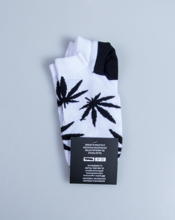 BLUD SOCKS NO SHOW  KUSH WHITE