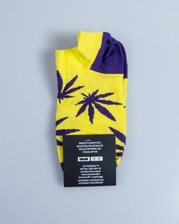 BLUD SOCKS NO SHOW  KUSH YELLOW